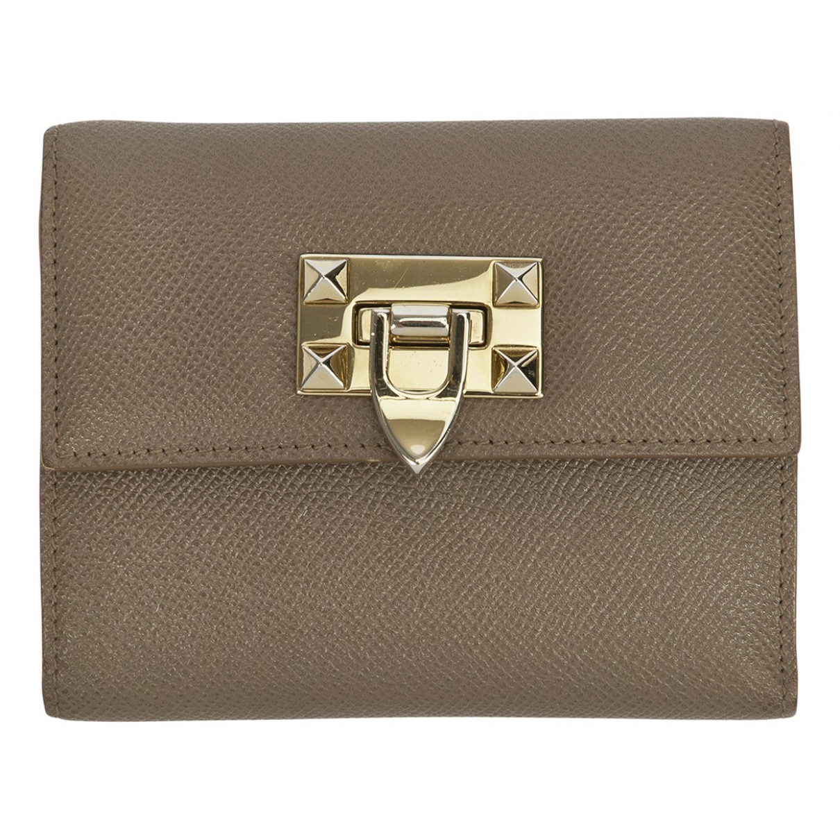 Valentino Garavani N Beige Leather wallet for Women N