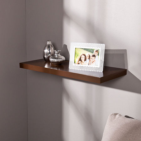 JCPenney Home Chalet 24-Inch Floating Shelf, One Size , Brown