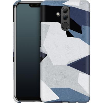 Huawei Mate 20 Lite Smartphone Huelle - Geometric Camo Blue von caseable Designs