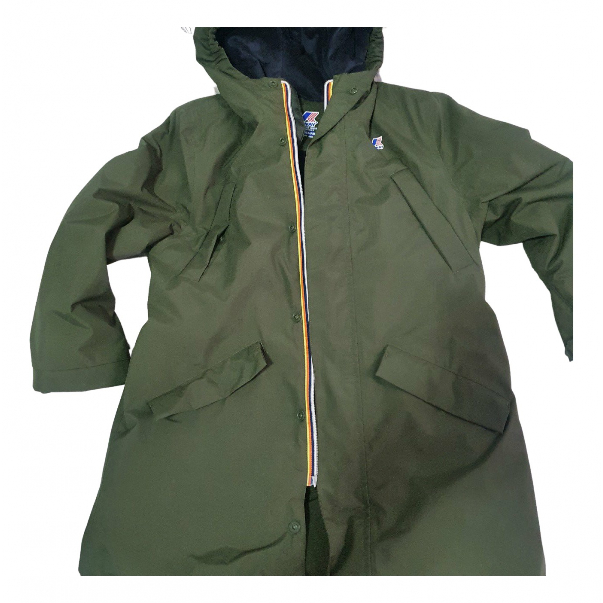 K-way \N Green Fur jacket & coat for Kids 8 years - up to 128cm FR