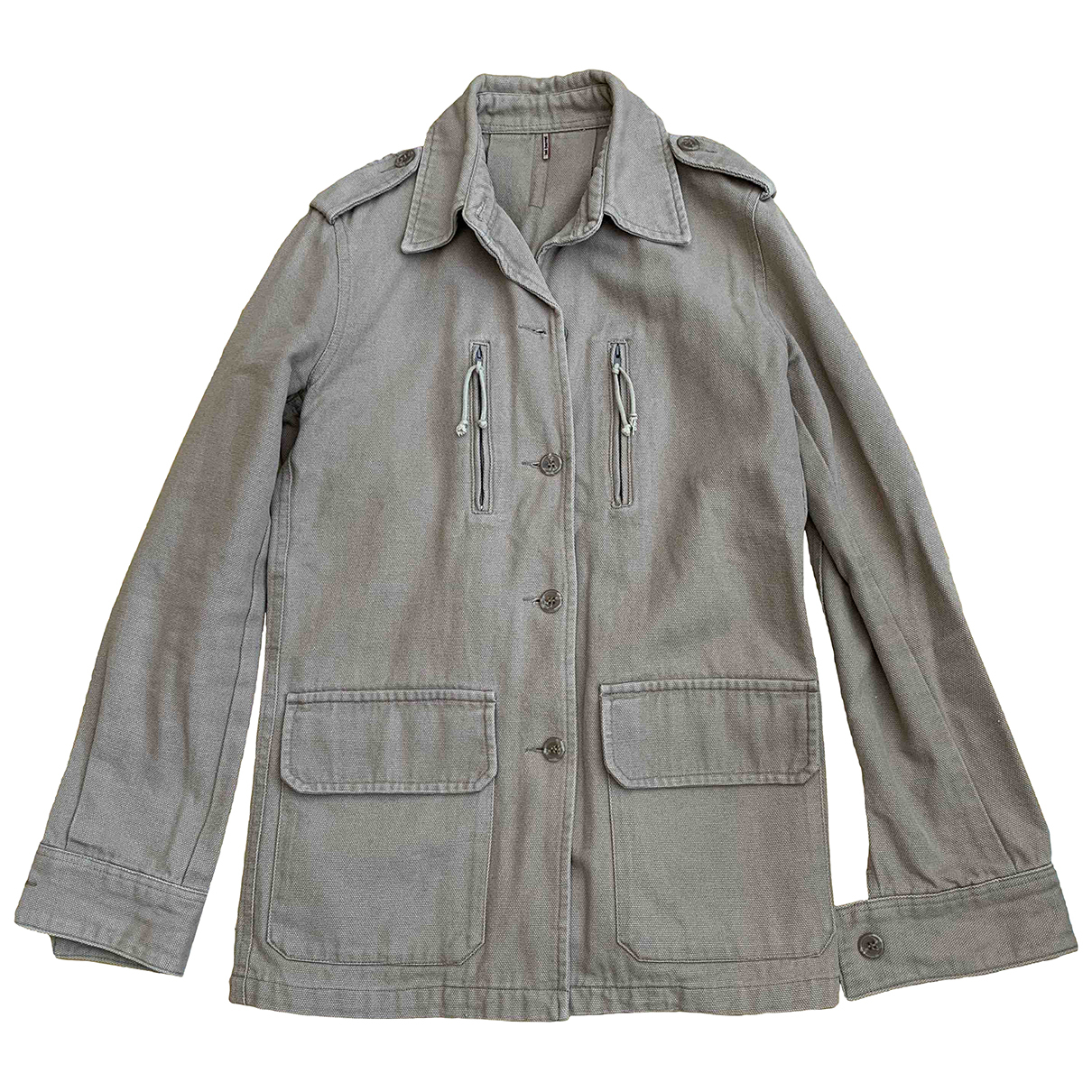 Bali Barret \N Beige Cotton jacket for Women 38 FR