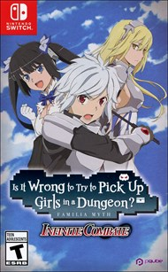 Is it Wrong to Try to Pick Up Girls in a Dungeon: Infinite Combat