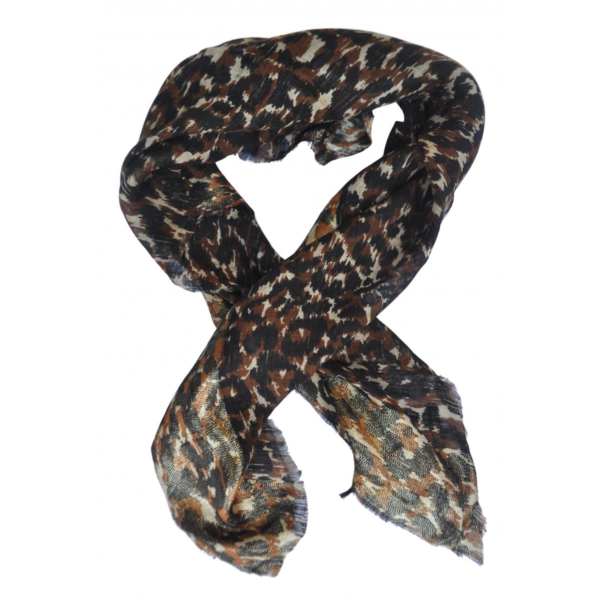 Gucci \N Multicolour Linen scarf for Women \N