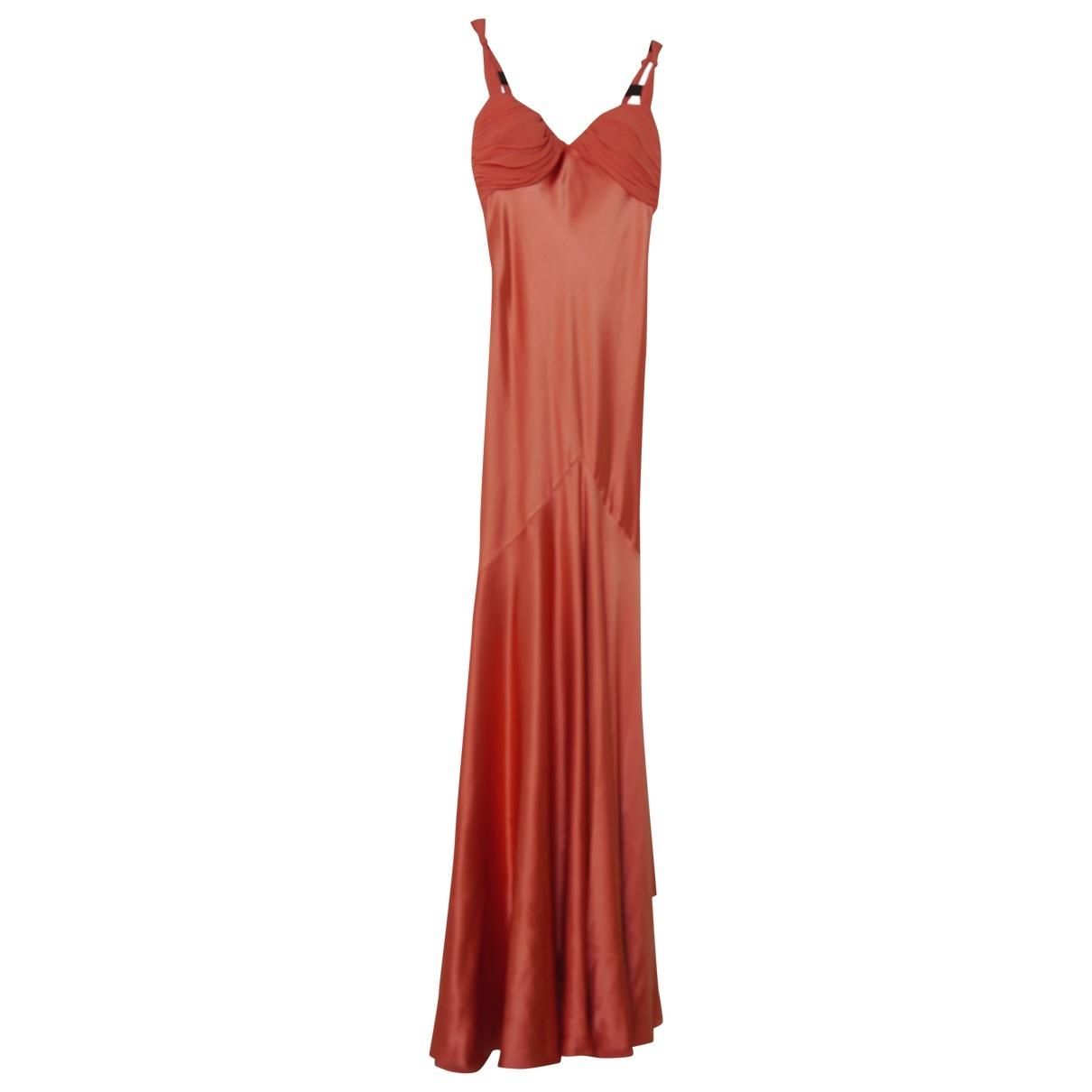 Maxi vestido de Seda Amanda Wakeley