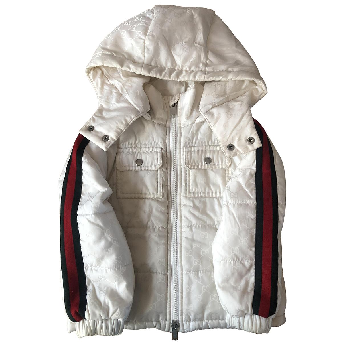 Gucci - Blousons.Manteaux   pour enfant - blanc