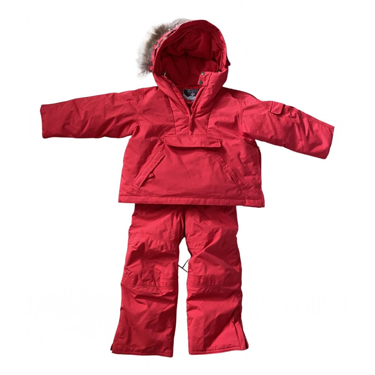 Bonpoint \N Jacke, Maentel in  Rot Polyester