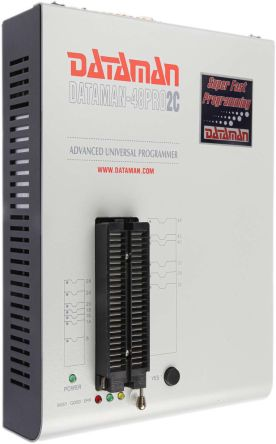 Dataman 48Pro2C, Universal ISP Programmer for EEPROM, eMMC, EPROM, Flash, MCU/MPU, NAND Flash, NV Ram, PLD,