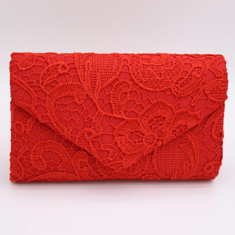 Ericdress Envelope Shape Lace Pattern Evening Clutch