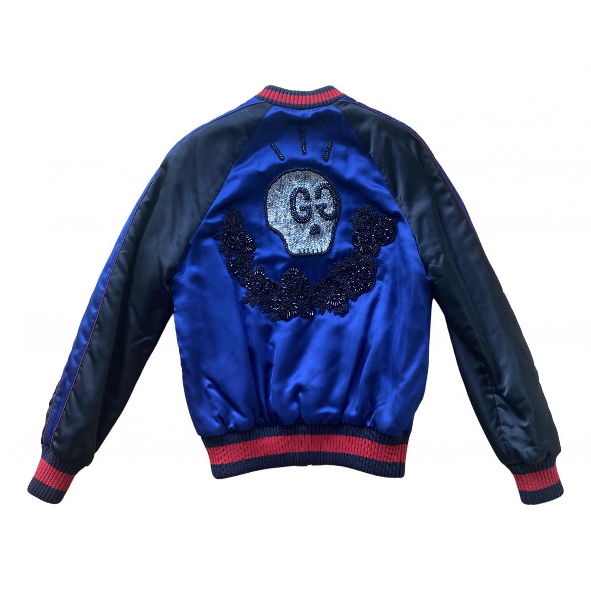 Gucci - Veste   pour femme - bleu