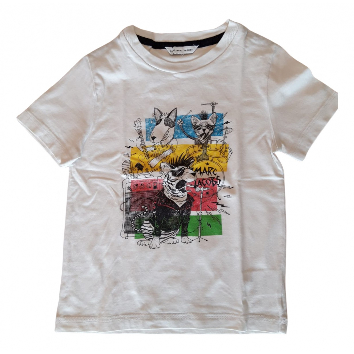Little Marc Jacobs - Top   pour enfant en coton - blanc
