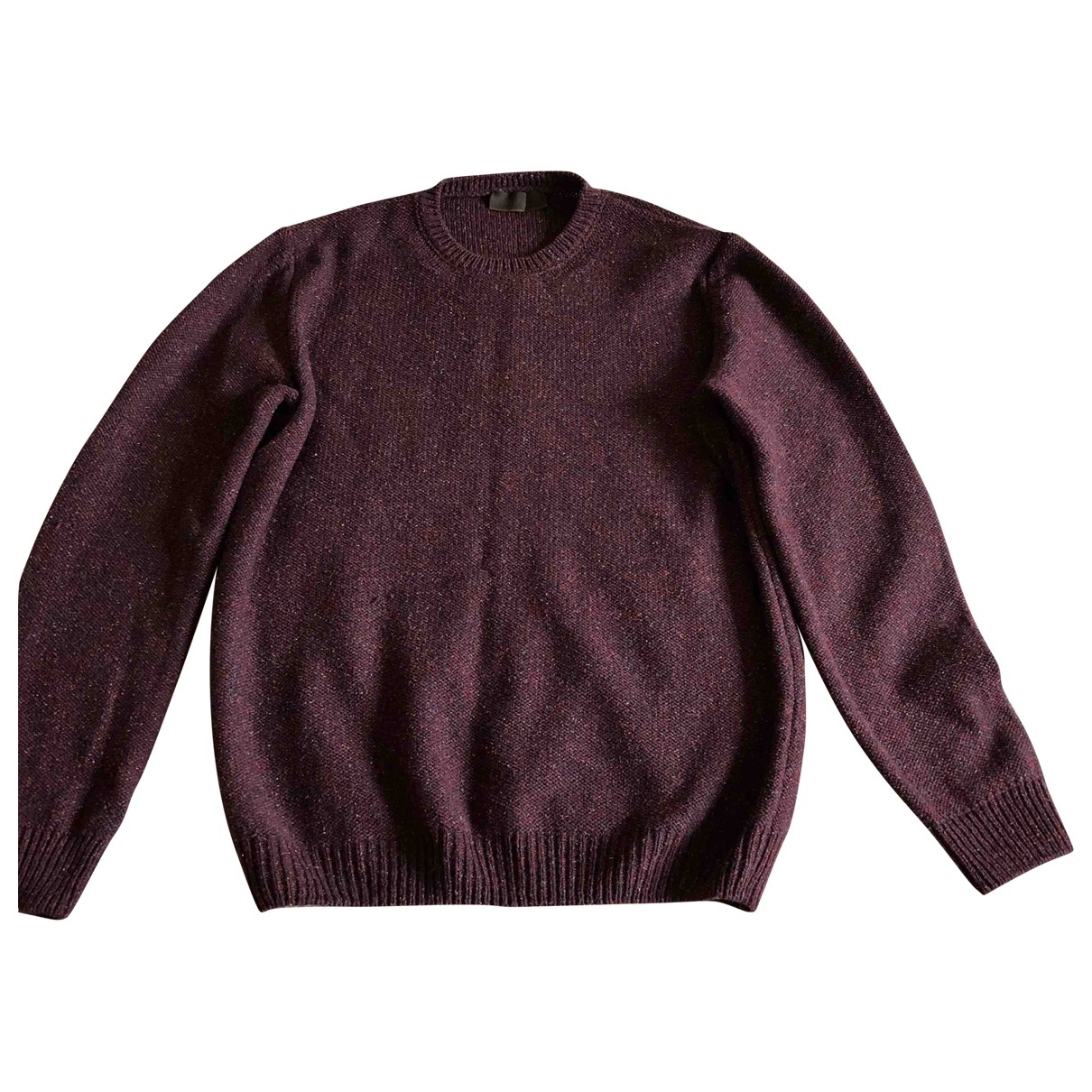 Altea \N Burgundy Wool Knitwear & Sweatshirts for Men S International