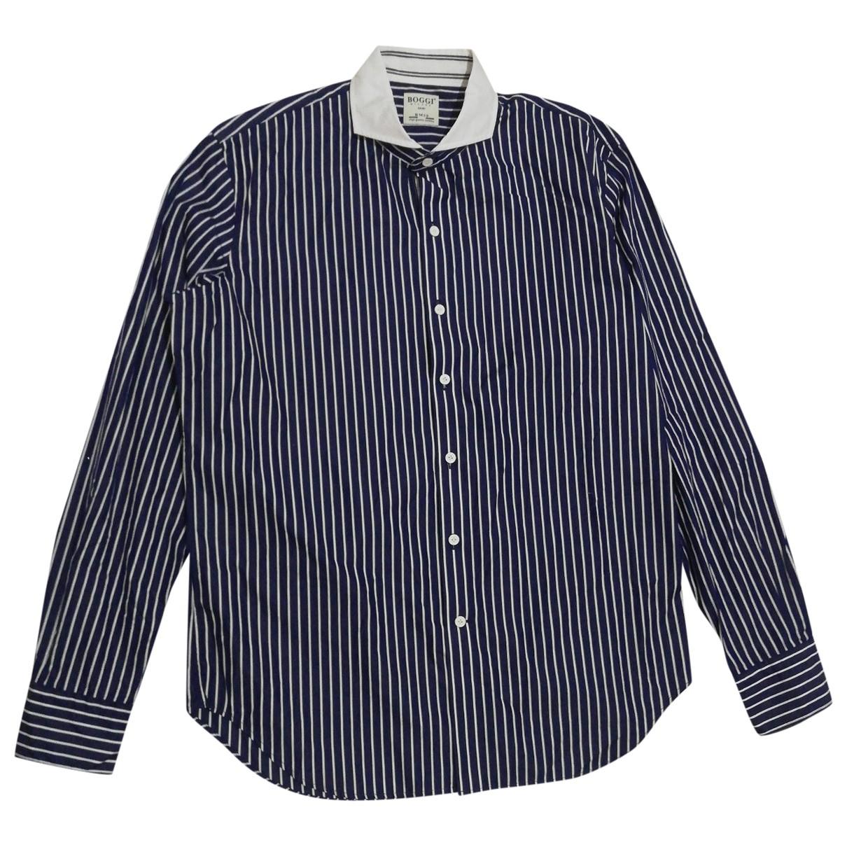 Boggi - Chemises   pour homme en coton - multicolore