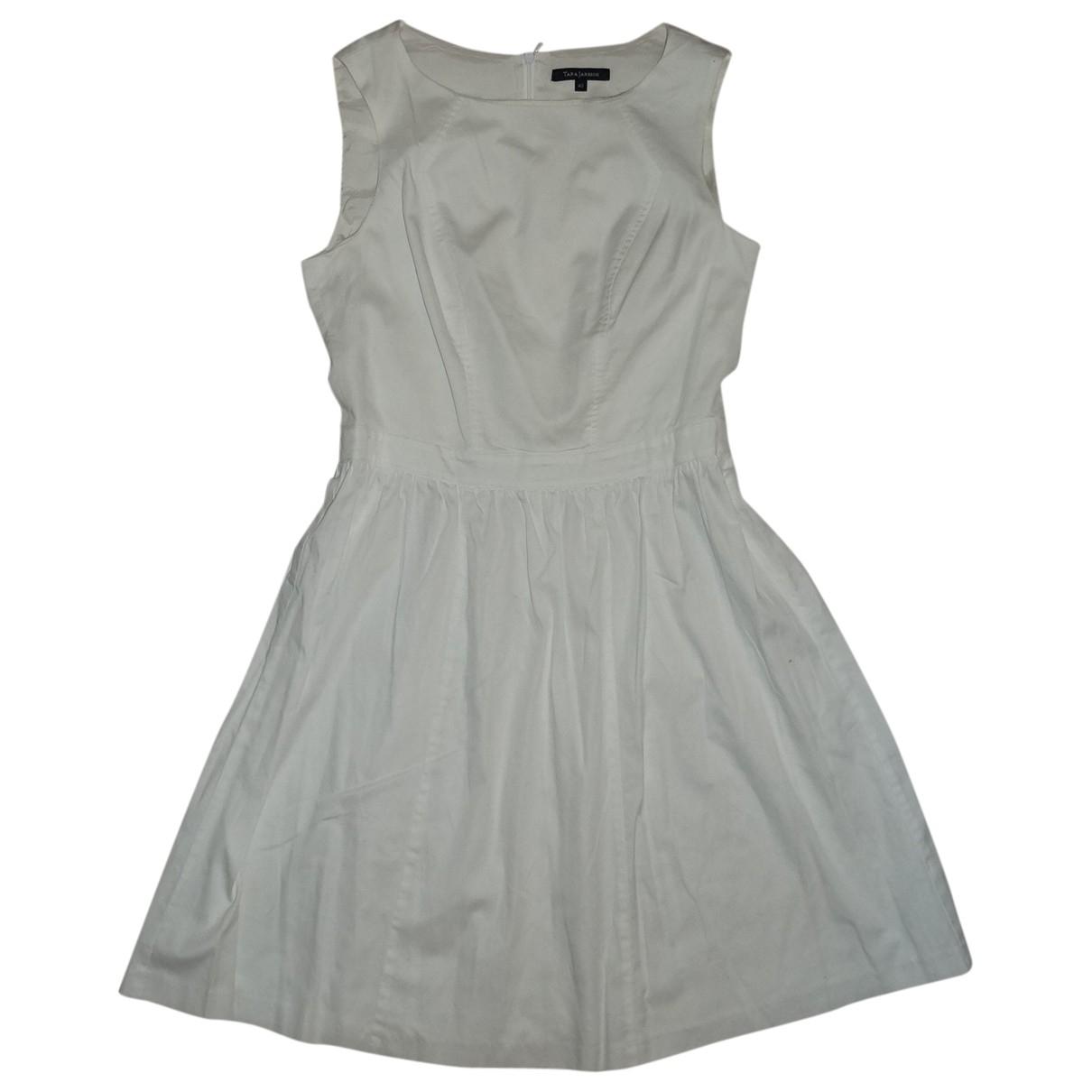 Tara Jarmon \N White Cotton dress for Women 40 FR