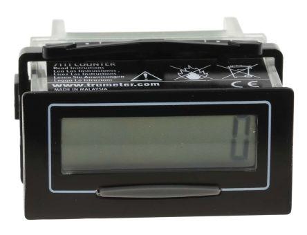 Trumeter , 8 Digit, LCD, Digital Counter, 10kHz, 3.6 V Battery