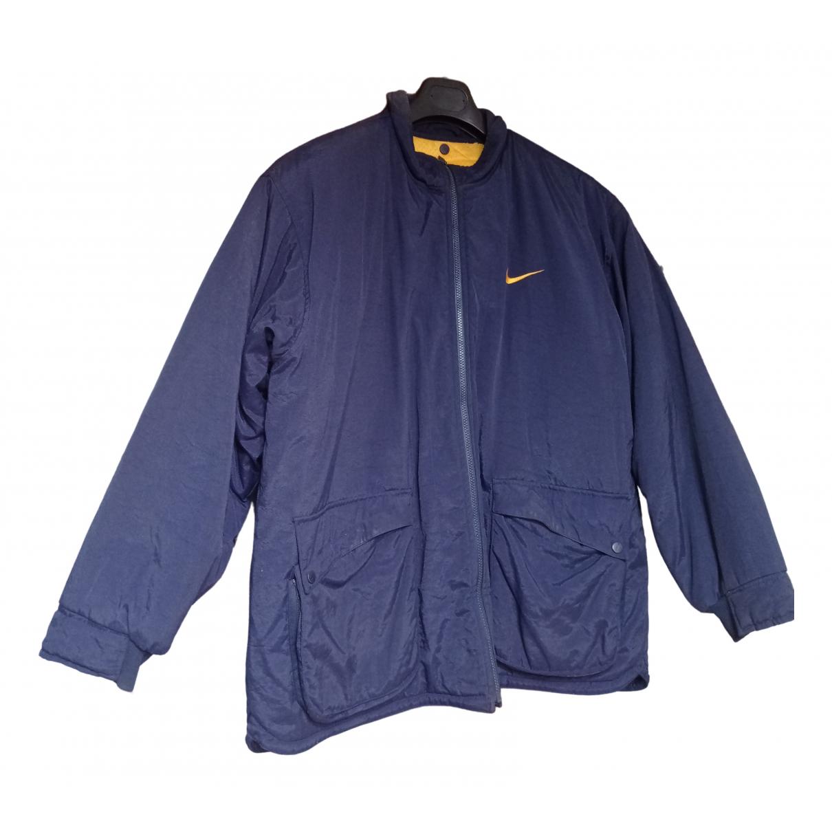 Nike \N Jacke in  Blau Polyester