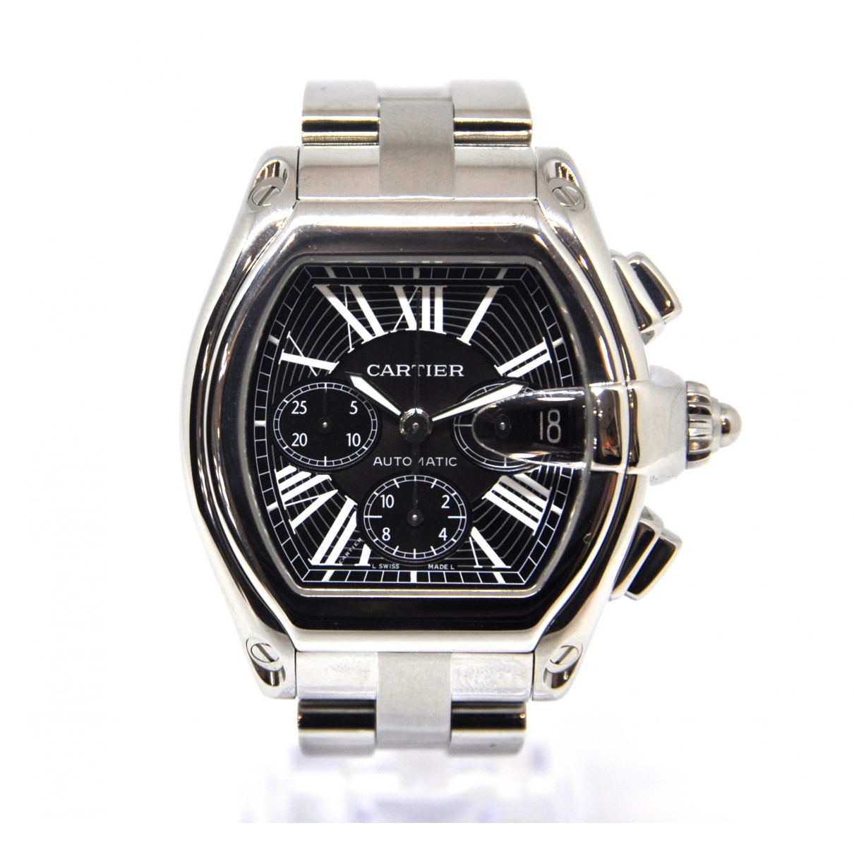Cartier Roadster Steel watch for Men \N