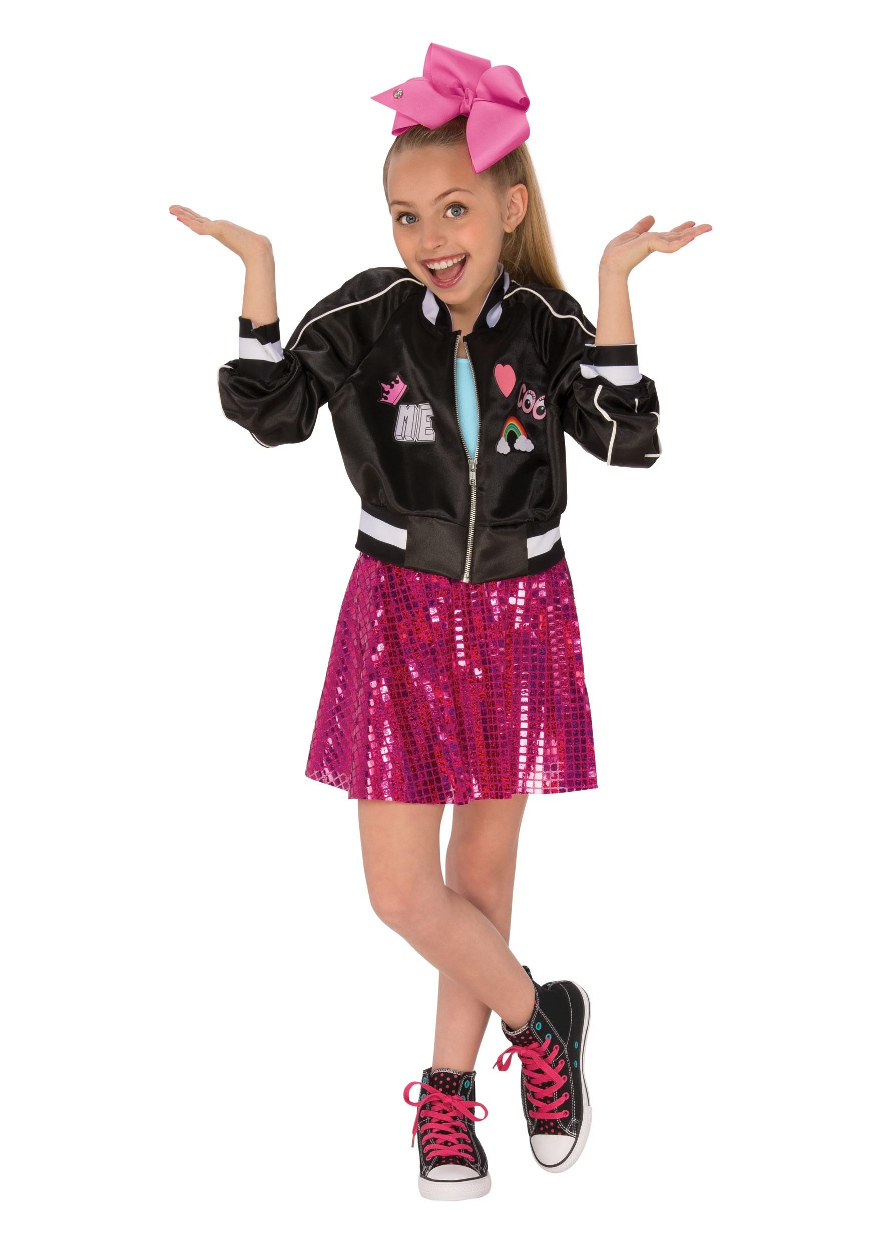 Girl's Jojo Siwa Jacket Costume