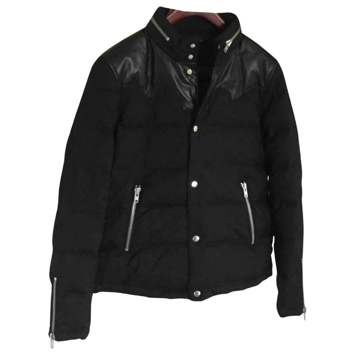 The Kooples \N Jacke in  Schwarz Synthetik