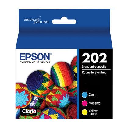 Epson 202 T202520 cartouche d'encre originale combo c/m/y