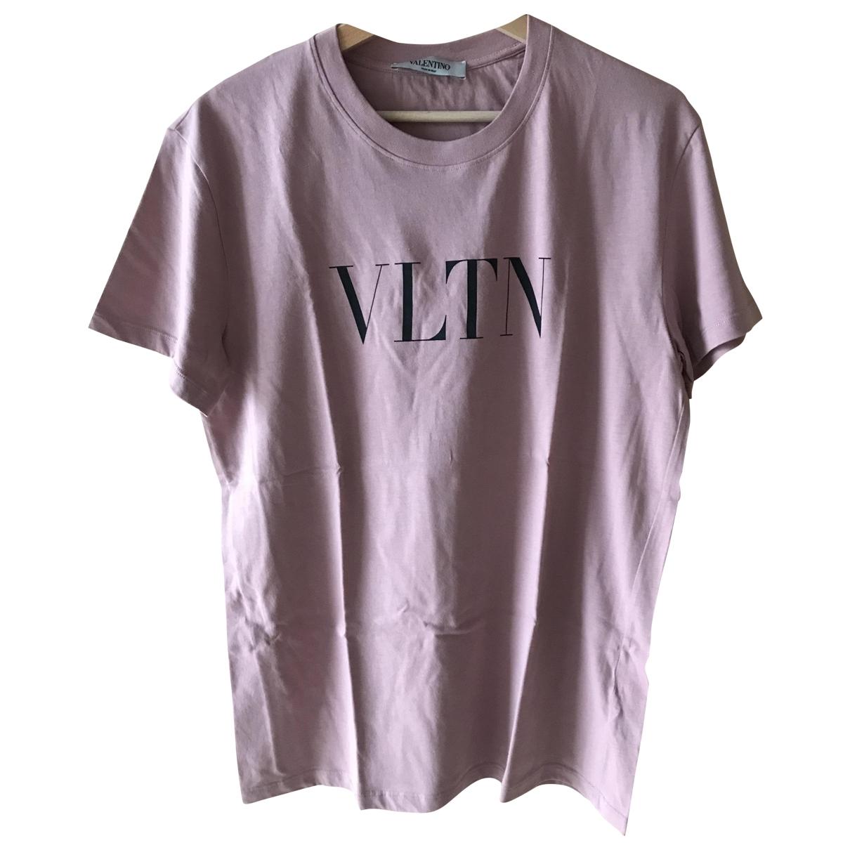 Valentino Garavani - Top   pour femme en coton - rose