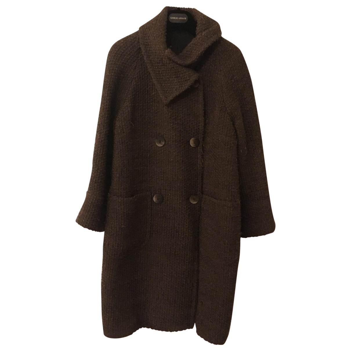 Tagliatore \N Maentel in  Grau Wolle