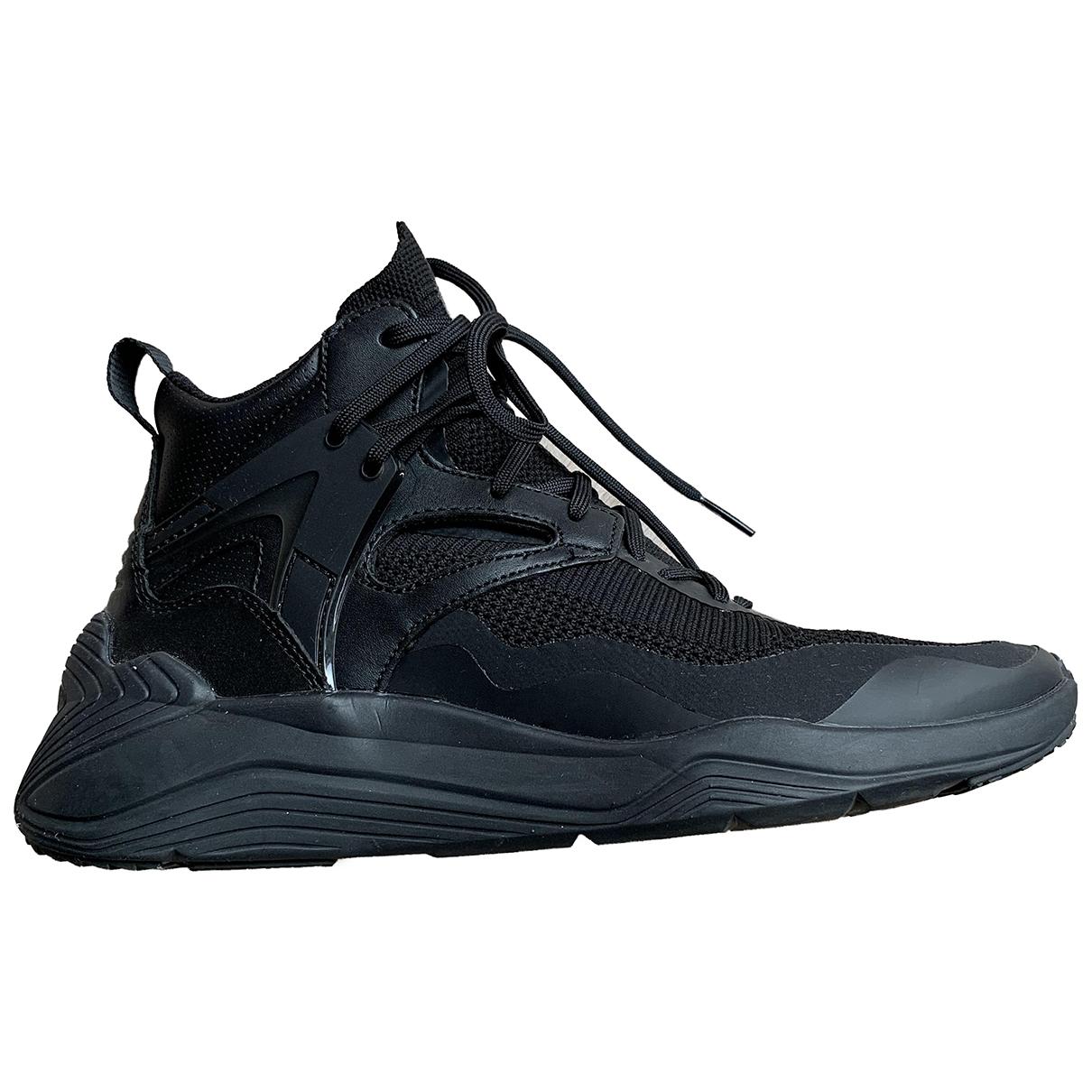 Mcq - Baskets   pour femme en toile - noir