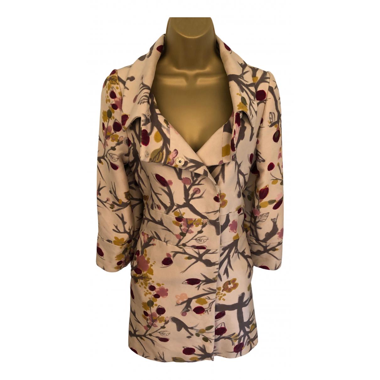 Marni - Manteau   pour femme en laine - beige