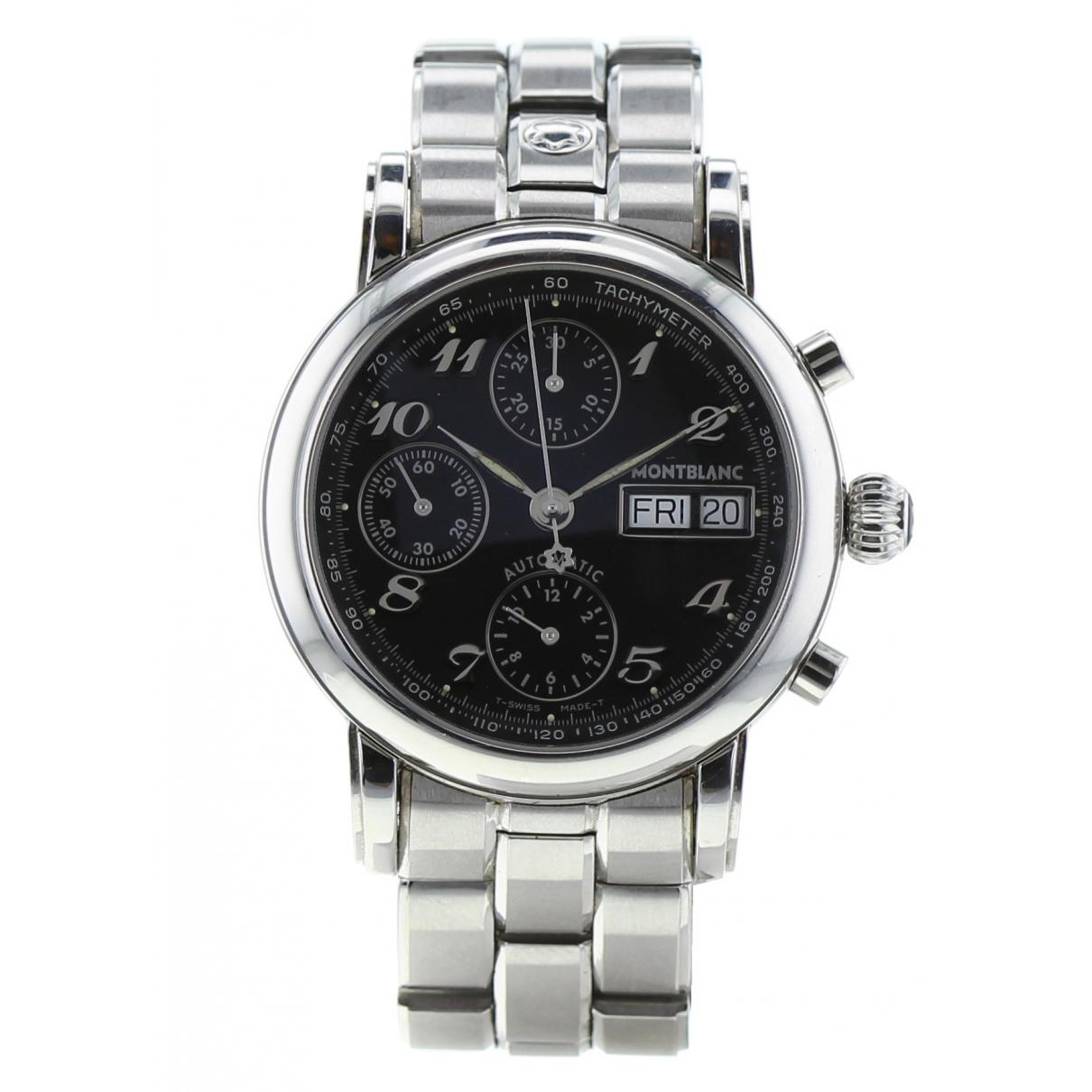 Montblanc \N Silver Steel watch for Men \N