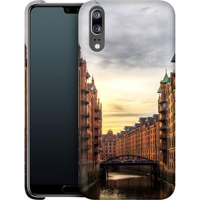 Huawei P20 Smartphone Huelle - Speicherstadt von caseable Designs