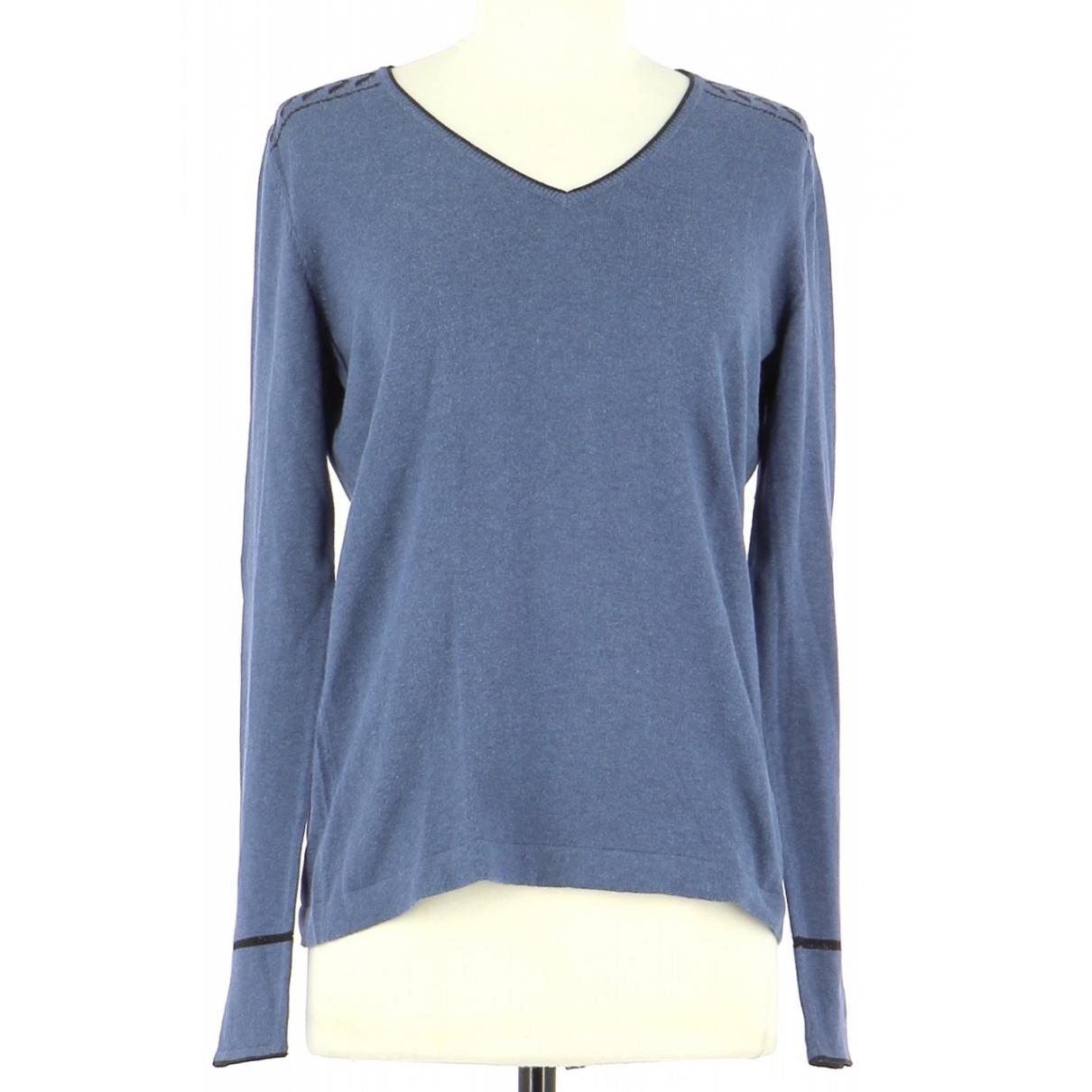 Gerard Darel \N Blue Cotton Knitwear & Sweatshirts for Men 38 UK - US