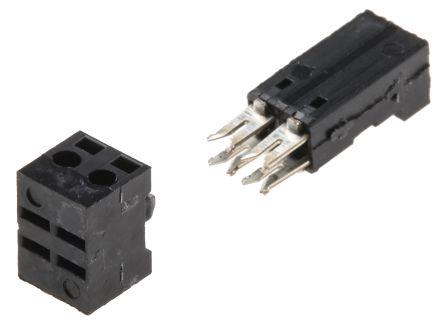 Stelvio Kontek 2-Way IDC Connector Socket for Cable Mount, 1-Row (10)