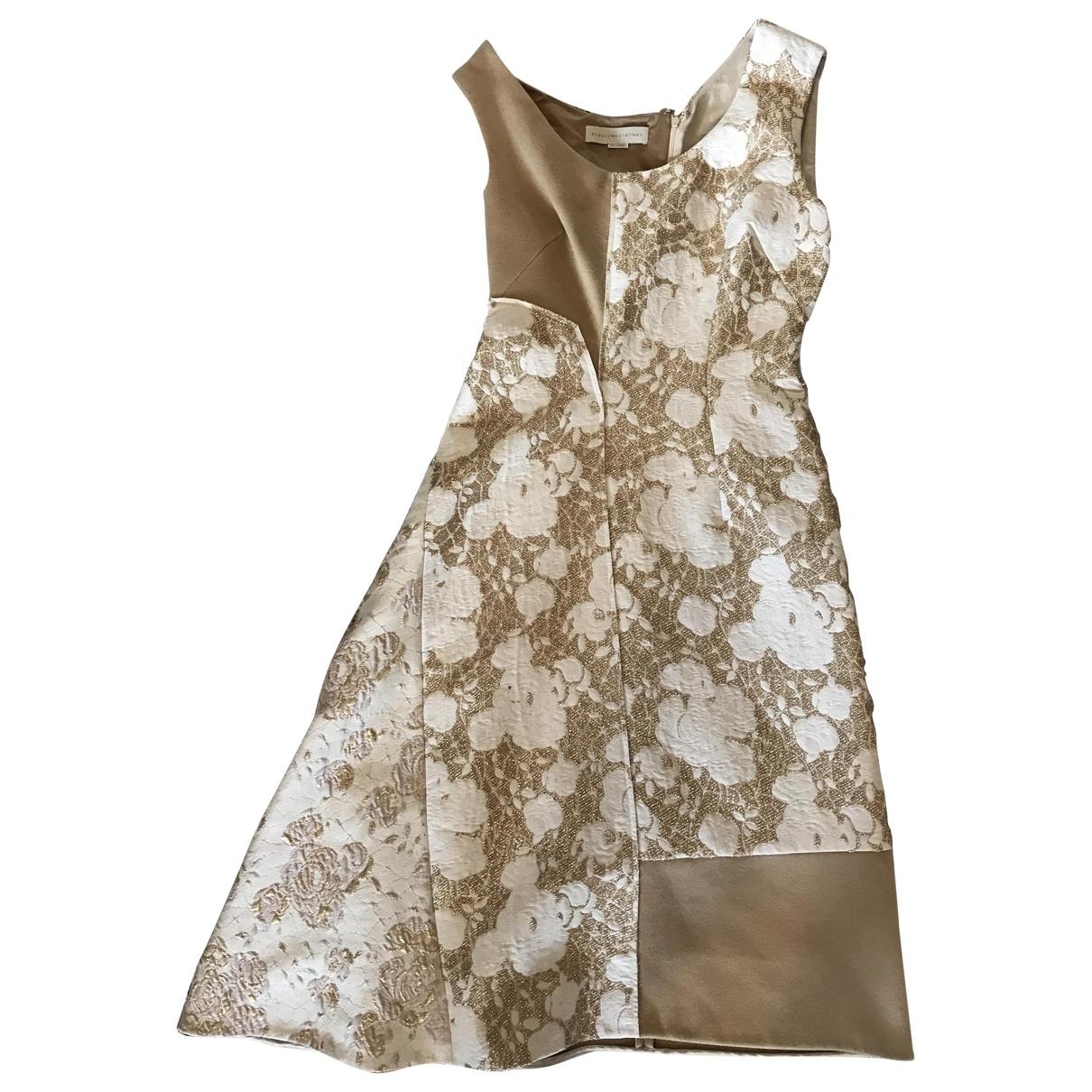Stella Mccartney \N Kleid in  Beige Wolle