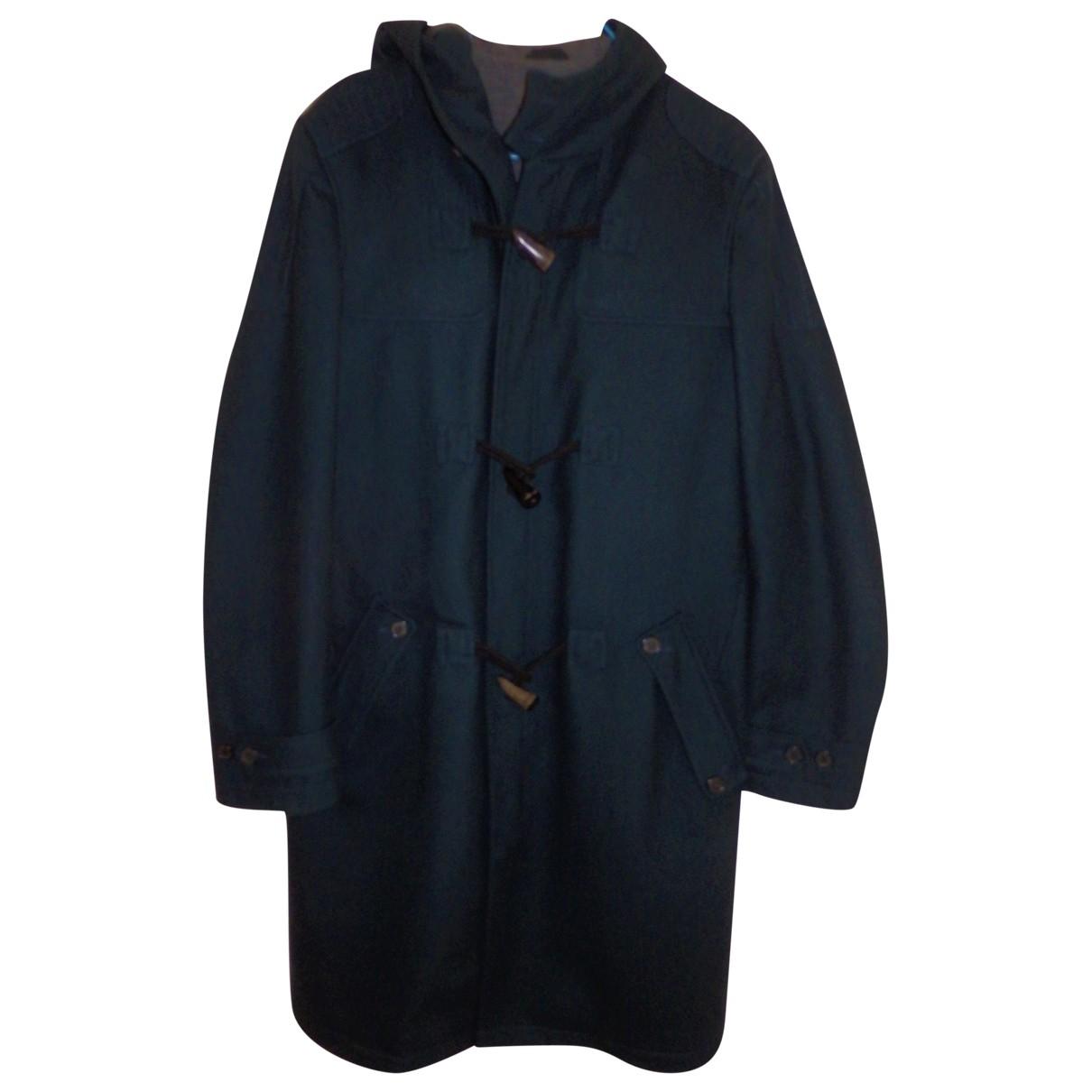 Kenzo \N Maentel in  Blau Wolle