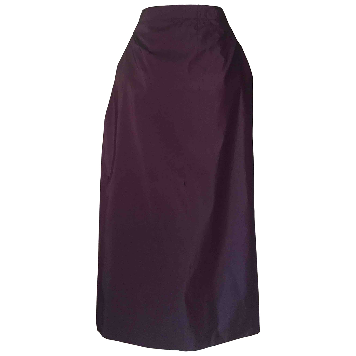 Non Signé / Unsigned \N Purple Silk skirt for Women One Size International