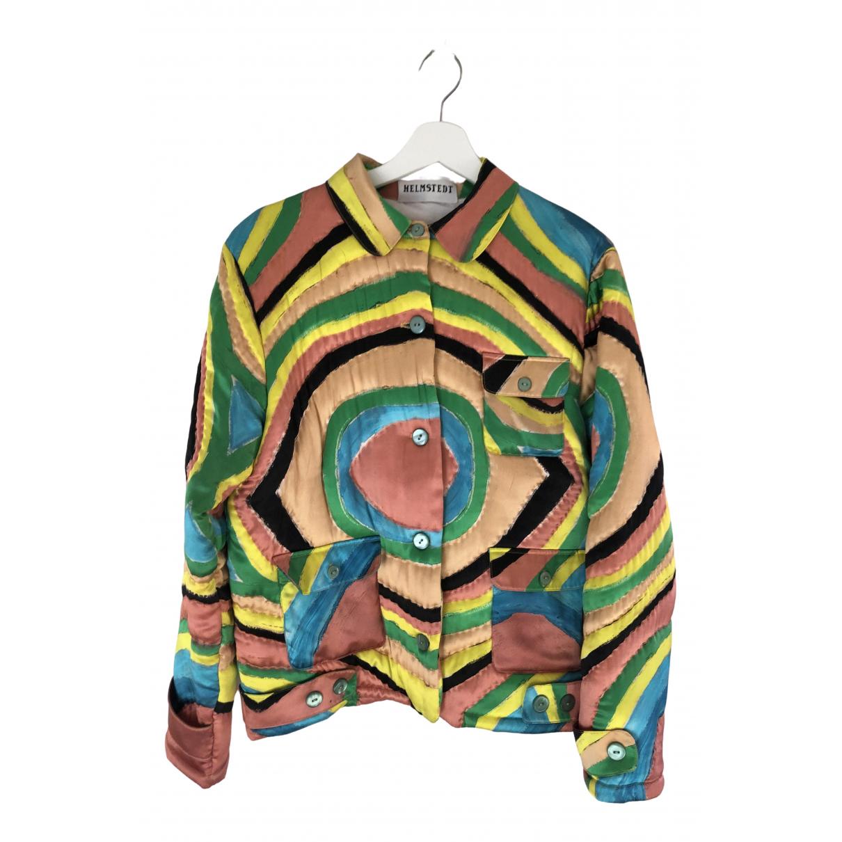Emilie Helmstedt - Veste   pour femme en soie - multicolore