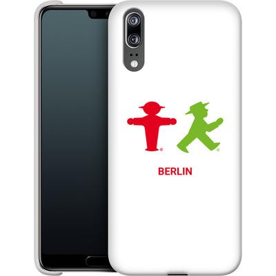 Huawei P20 Smartphone Huelle - Green and Red von AMPELMANN