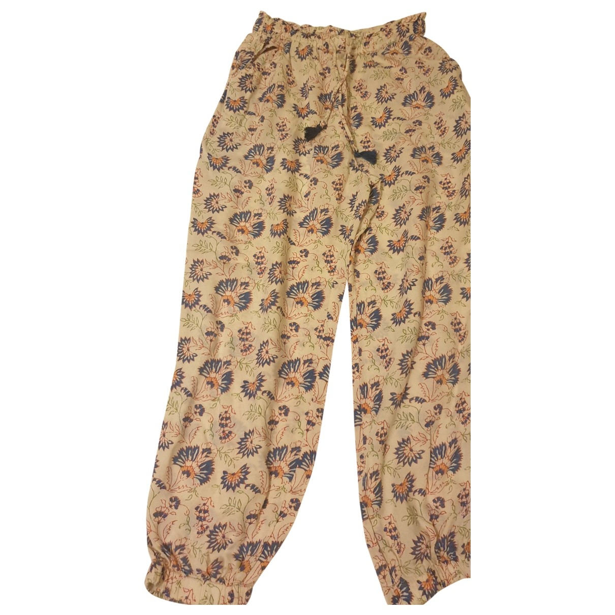 American Outfitters - Pantalon   pour enfant en coton - beige