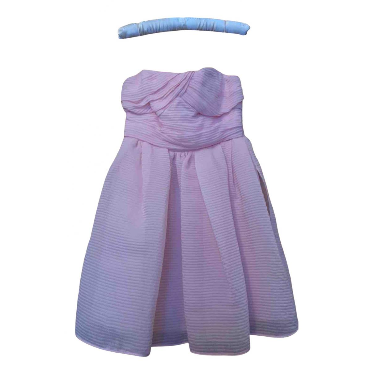 Carven N Pink dress for Women 38 FR