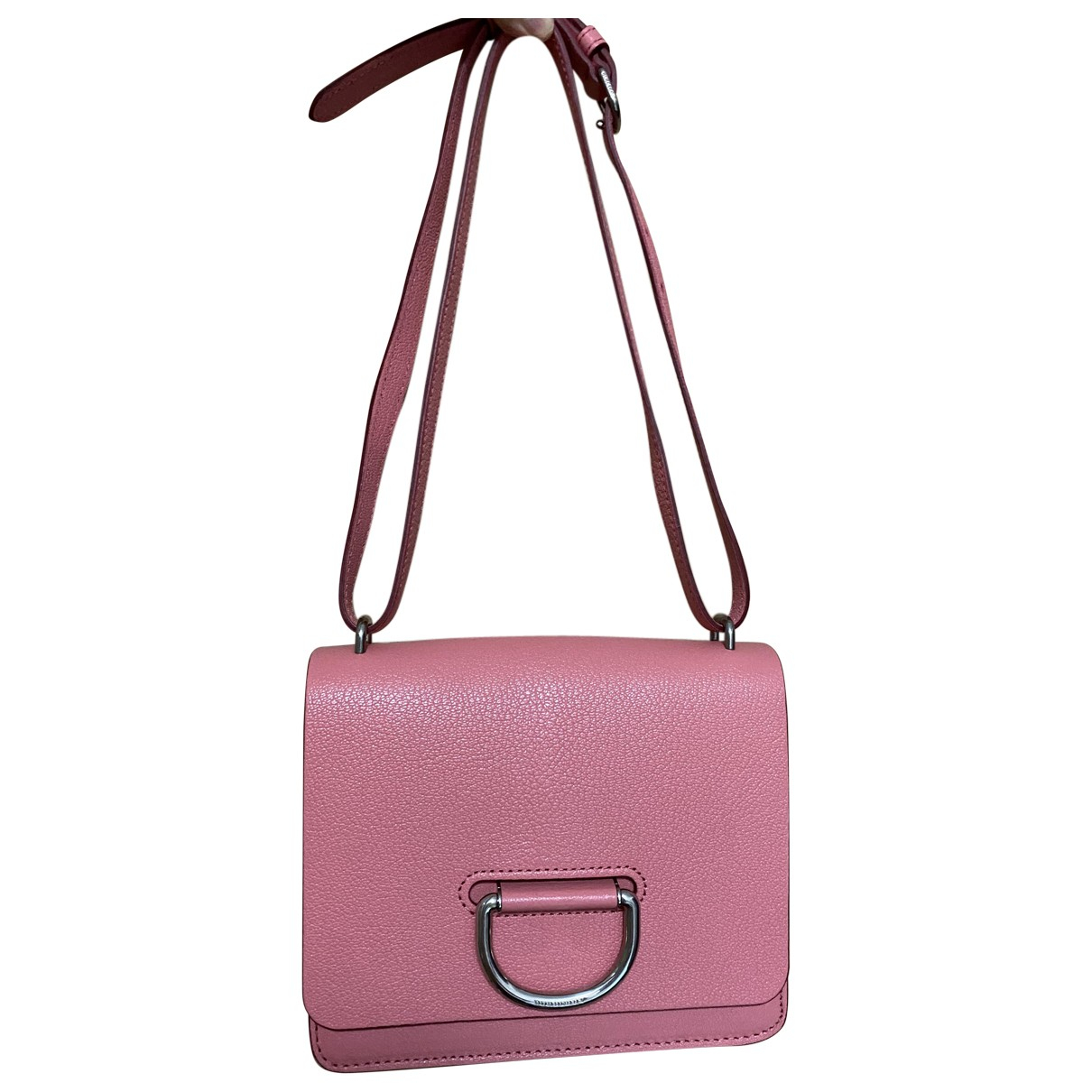 Burberry The D-ring Pink Leather handbag for Women N