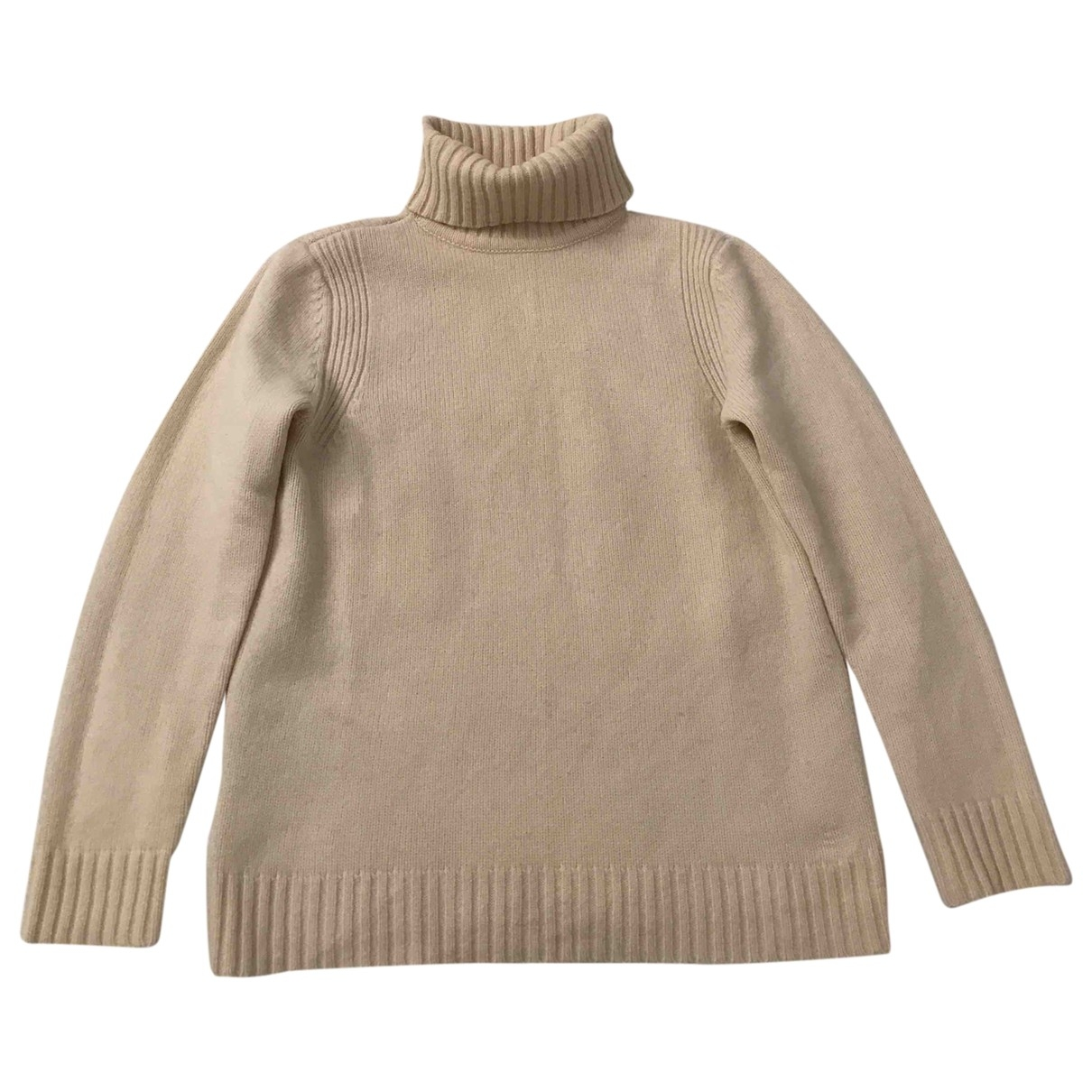 Tommy Hilfiger \N Pullover in  Ecru Wolle