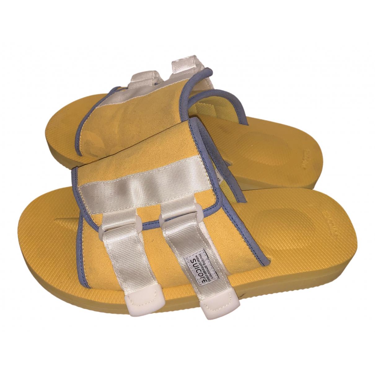 Suicoke - Sandales   pour femme - jaune