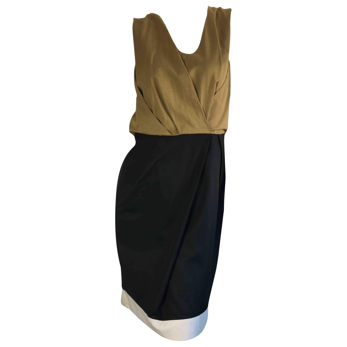 Dries Van Noten \N Kleid in  Bunt Baumwolle