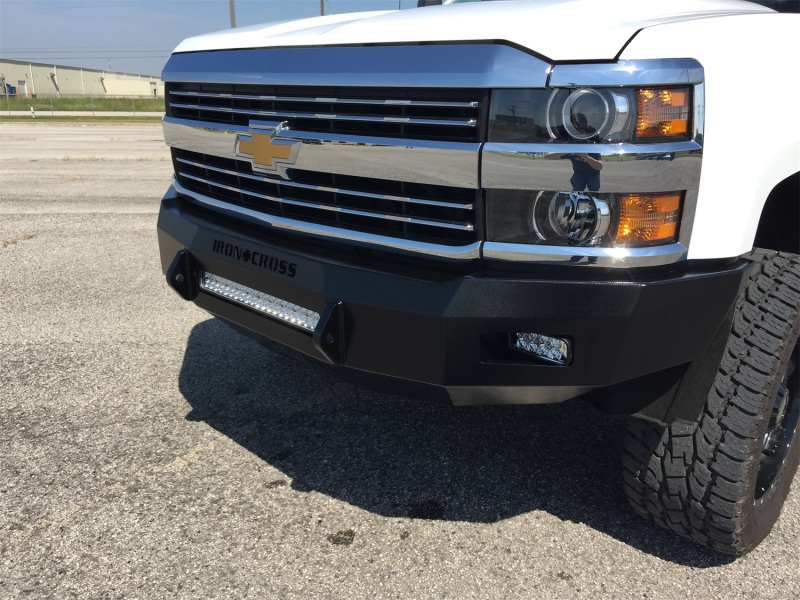 Iron Cross RAW 40-525-15 Low Profile Front Bumper - Primer Chevrolet Silverado 2500 | 3500 2015-2019