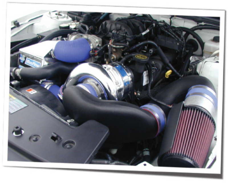 Vortech Polished H.O. Supercharger System w/ V-3 Si & Charge Cooler Ford Mustang 4.0 V6 07-08