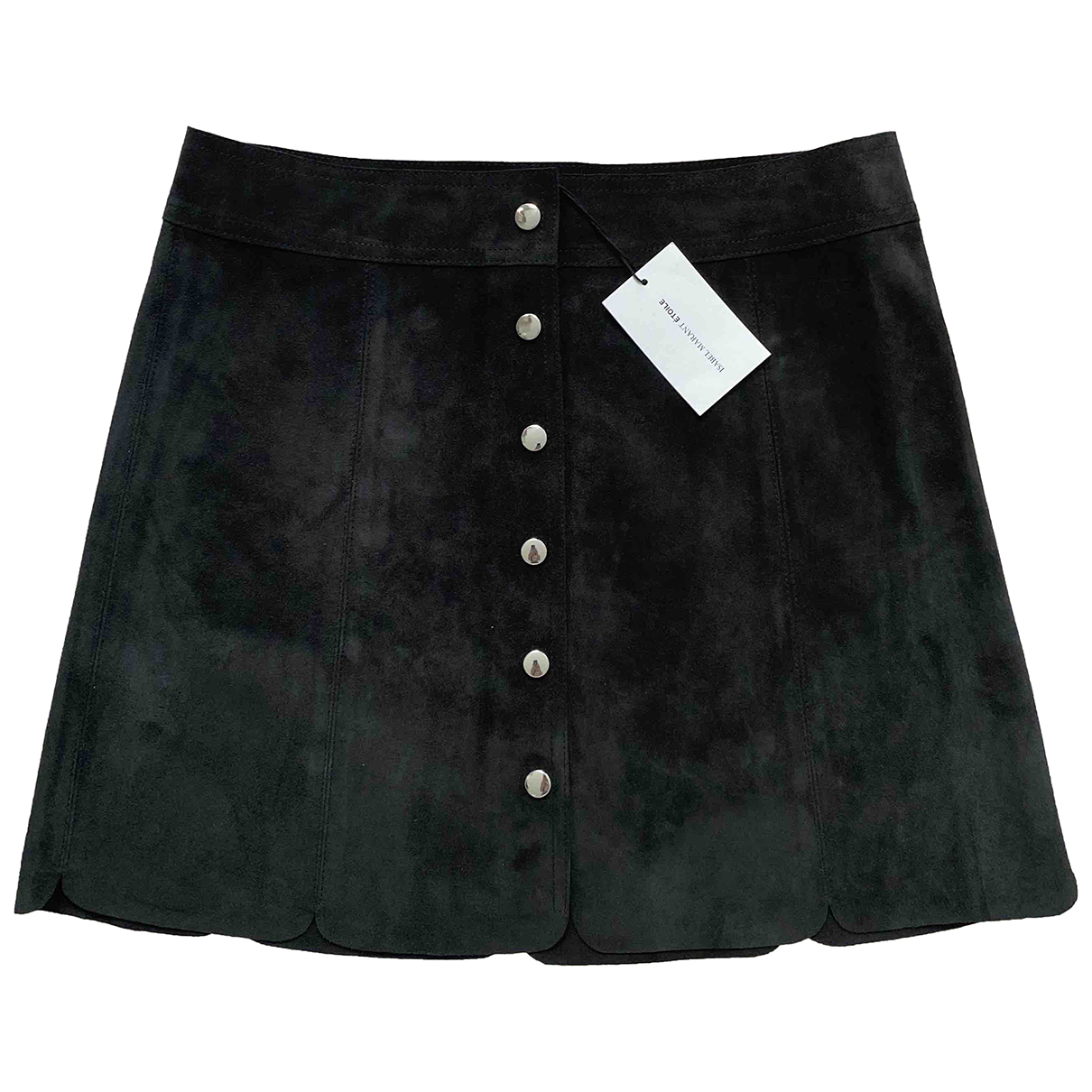 Isabel Marant Etoile \N Black Suede skirt for Women 38 FR