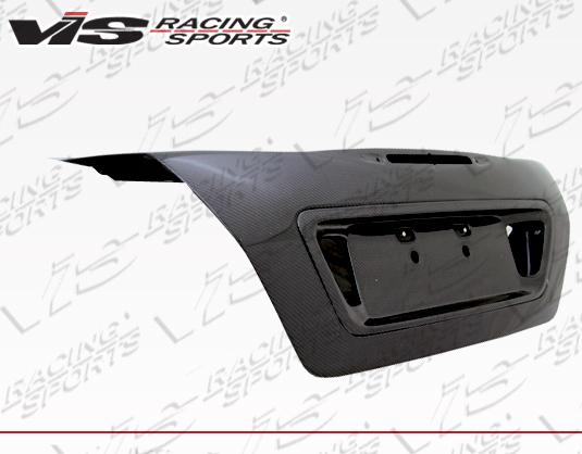 VIS Racing 06HDACC4DOE-020C OEM Style Carbon Fiber Trunk Honda Accord 06-07