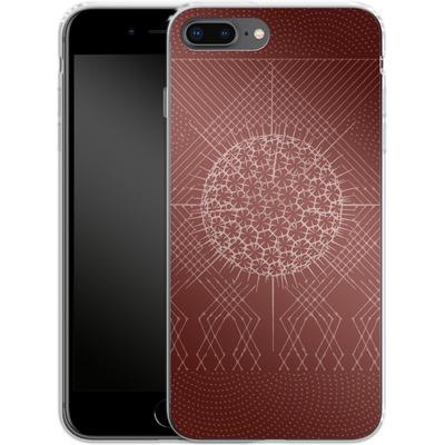 Apple iPhone 7 Plus Silikon Handyhuelle - Life System von Daniel Martin Diaz
