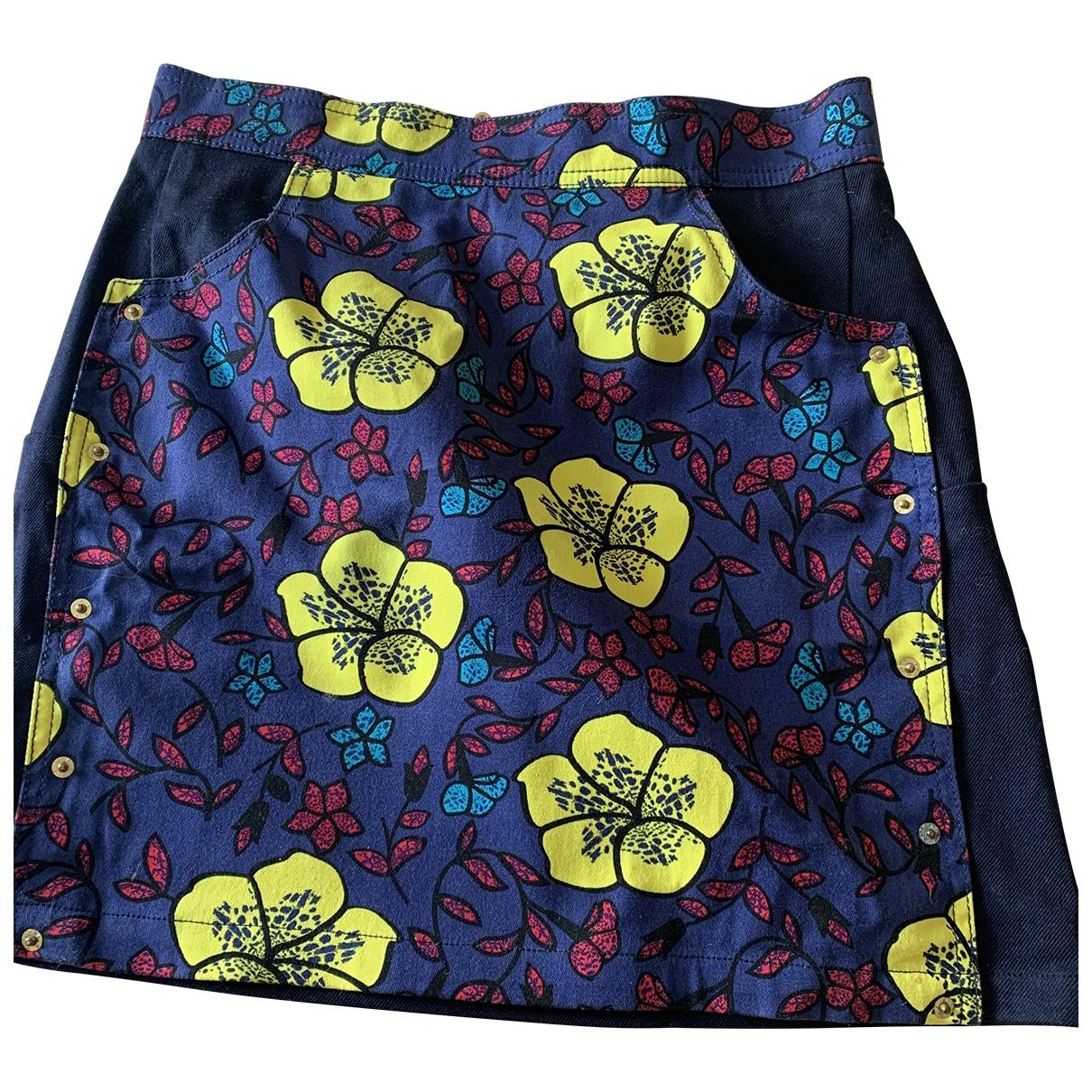 Kenzo \N Multicolour Denim - Jeans skirt for Women 36 FR