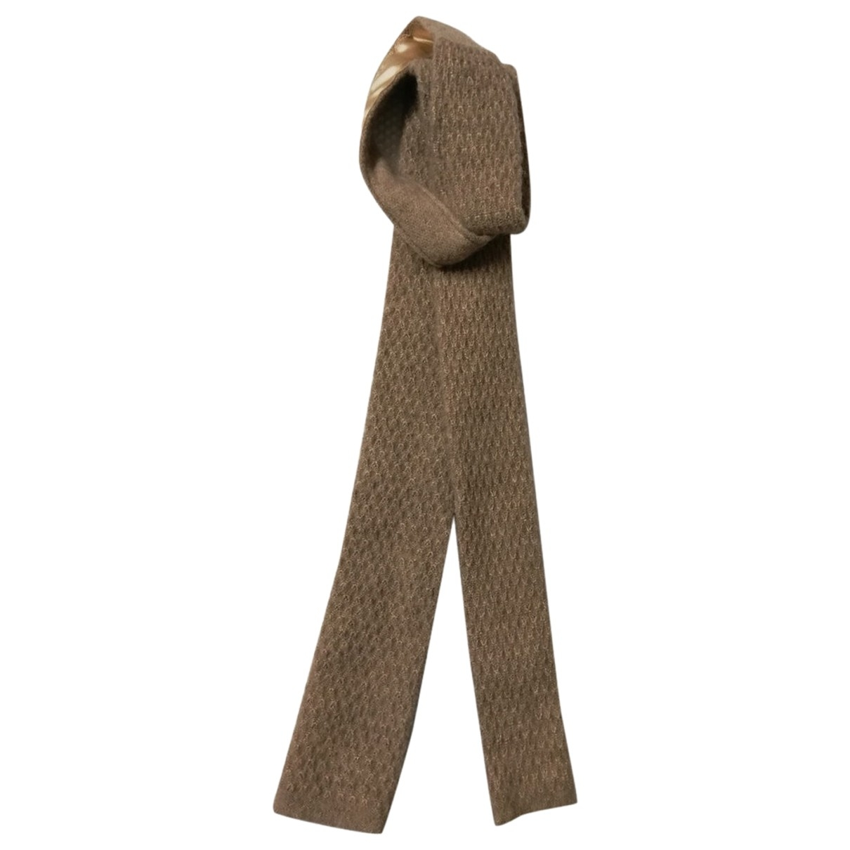 Boss \N Krawatten in  Beige Kaschmir