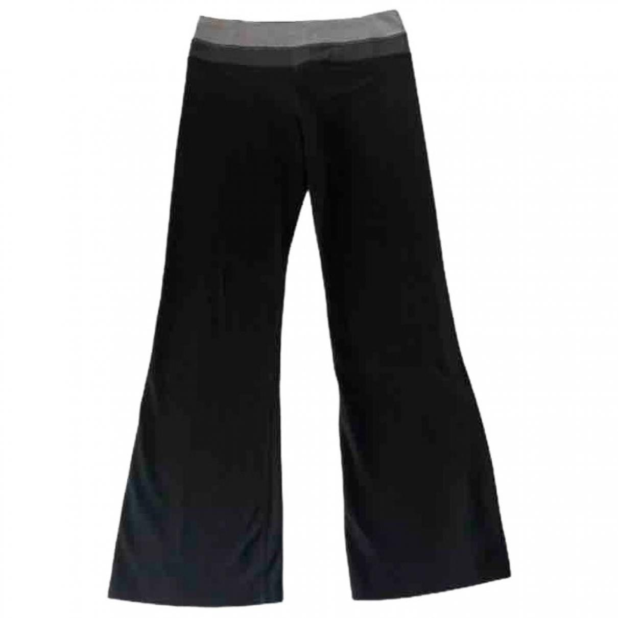 Lululemon \N Black Cotton Trousers for Women S International